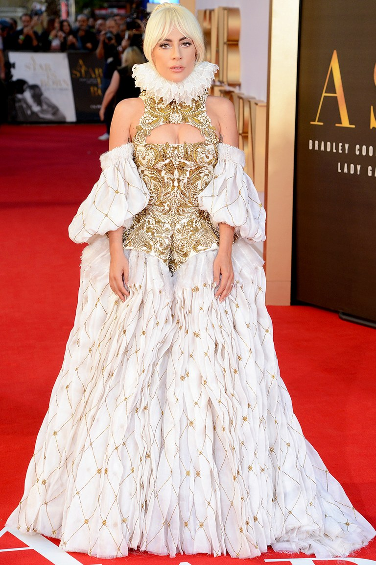 How Lady Gaga rocked up for her movie.  How I rocked up for her movie —>
